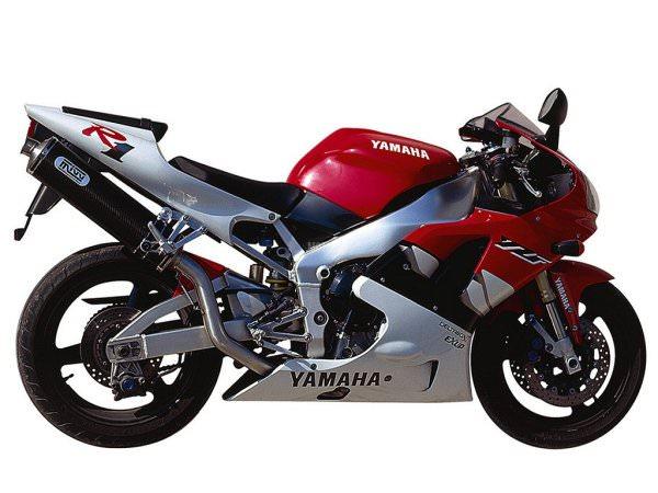MIVV Yamaha Auspuff Oval Highup YZF 1000 R1 ab 1998 bis 2001
