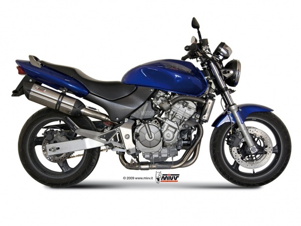 MIVV Honda Auspuff Suono HORNET 600 ab 1998 bis 2002