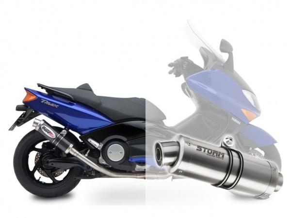 STORM GP Yamaha T-MAX 500 Auspuff 2001 bis 2007