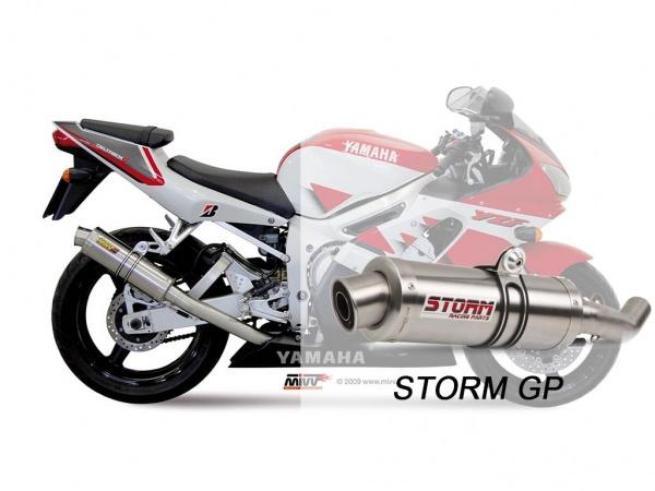STORM GP Yamaha YZF 600 R6 Auspuff 1999 bis 2002