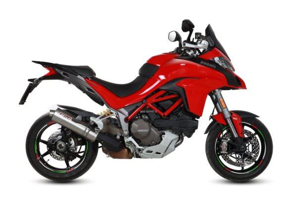 STORM Oval Ducati MULTISTRADA 1200 Auspuff 2015 bis 2017