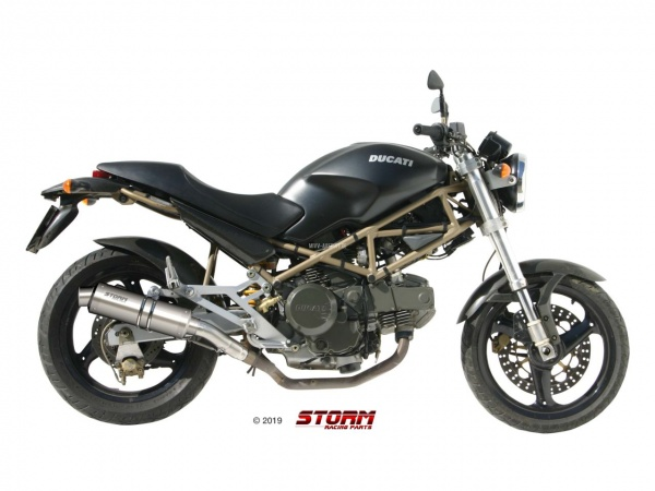 STORM GP Ducati MONSTER 600 Auspuff 1999 bis 2001