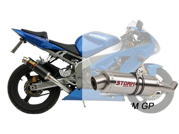 STORM GP Kawasaki ZX-6 R 636 Auspuff 2003 bis 2004