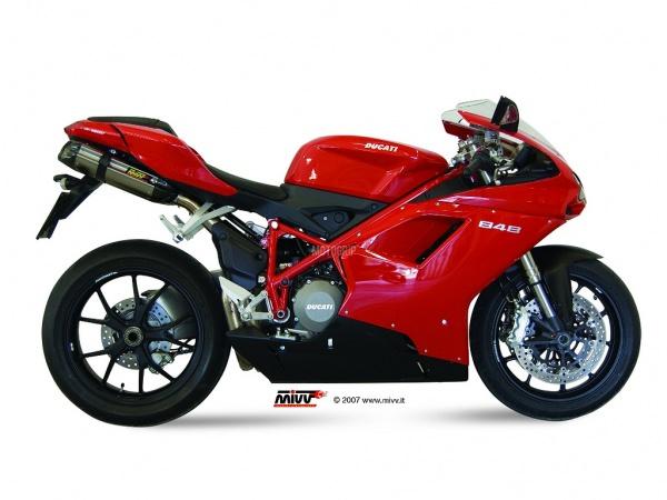 MIVV Ducati Auspuff Suono Underseat 1098 ab 2007