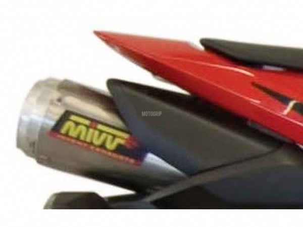 MIVV Honda Auspuff X-Cone Plus Underseat CBR 600 RR ab 2007 bis 2012