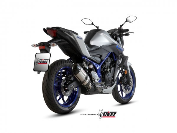 MIVV Yamaha MT-03 Auspuff Suono ab 2016