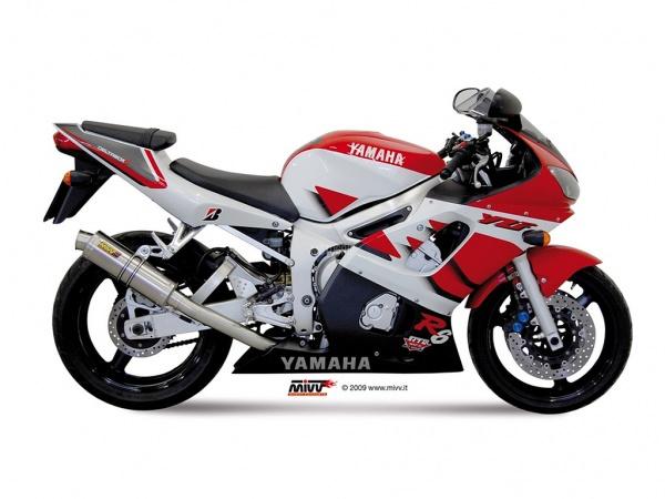 MIVV Yamaha Auspuff GP YZF 600 R6 ab 1999 bis 2002