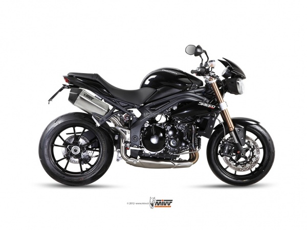 MIVV Triumph Auspuff Speed Edge SPEED TRIPLE ab 2011