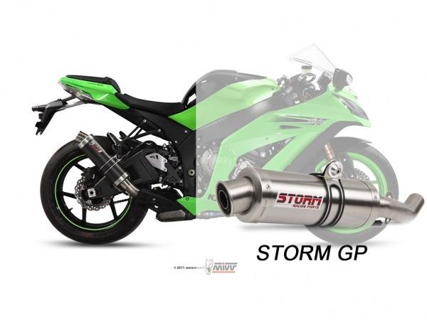 STORM GP Kawasaki ZX-10 R Auspuff 2011 bis 2015
