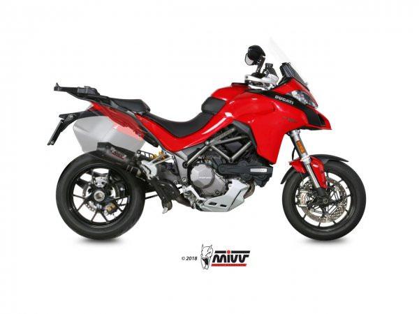 MIVV Ducati MULTISTRADA 1200 Auspuff Oval 2015 bis 2017