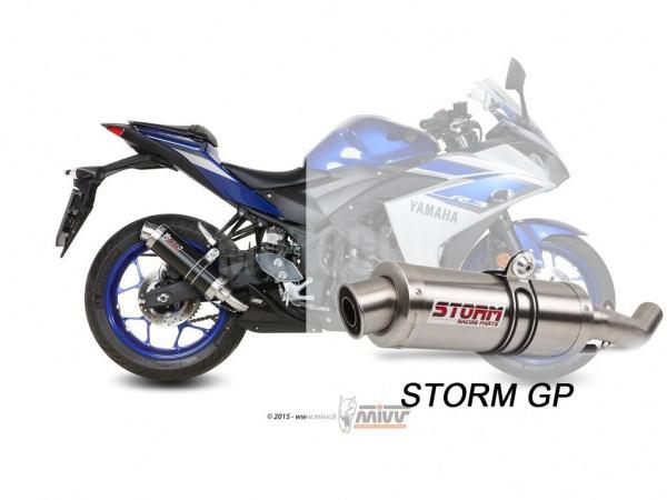 STORM Auspuff Yamaha YZF R3 GP ab 2015
