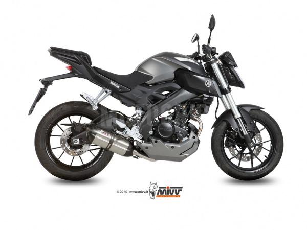MIVV Yamaha Auspuff Suono MT-125 ab 2015 bis 2018