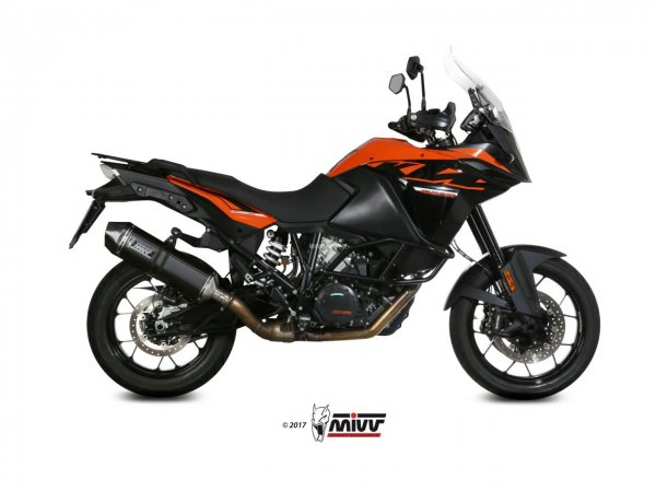 MIVV KTM 1190 ADVENTURE Auspuff Speed Edge 2013 bis 2016