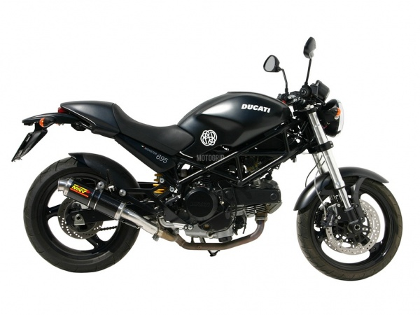 MIVV Ducati Auspuff GP MONSTER 695 ab 2006
