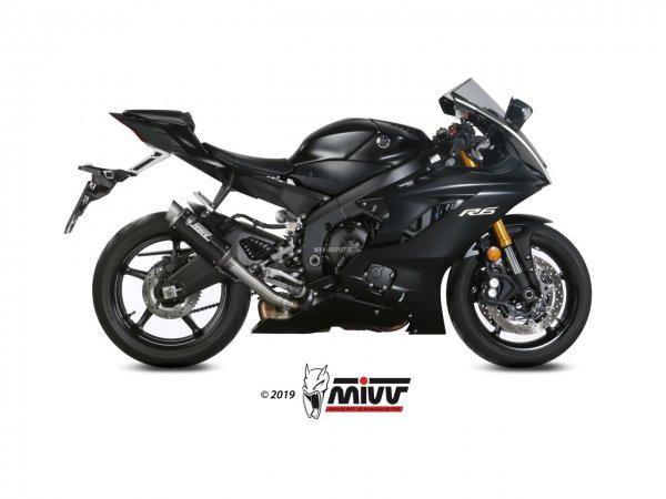 MIVV Yamaha YZF 600 R6 Auspuff GP Pro High Up ab 2017