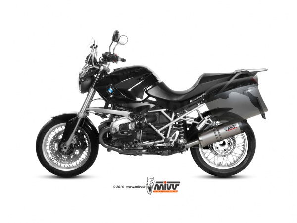 MIVV BMW Auspuff Oval R 1200 R ab 2011 bis 2014