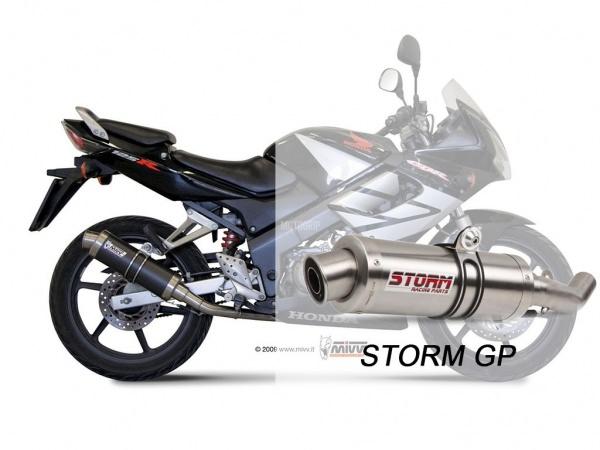 STORM GP Honda CBR 125 R Auspuff 2004 bis 2010