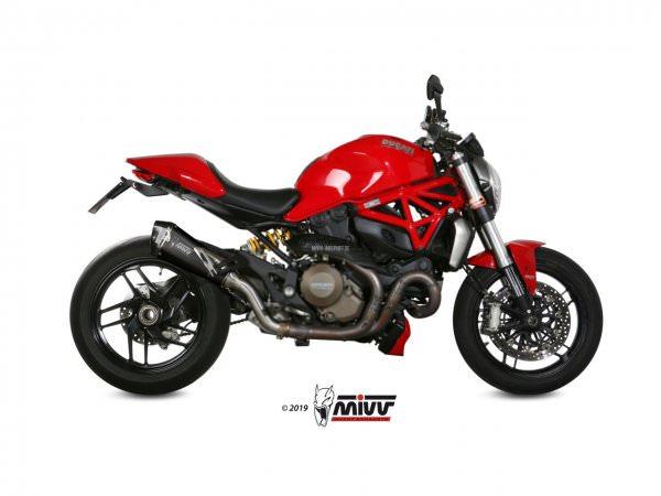MIVV Ducati MONSTER 1200 Auspuff Delta Race 2014 bis 2016