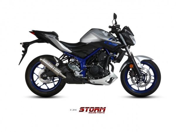 STORM GP Yamaha MT-03 Auspuff ab 2016
