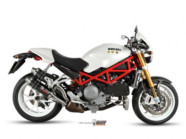 MIVV Ducati Auspuff GP MONSTER S4Rs ab 2006