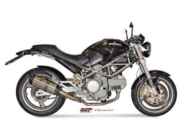 MIVV Ducati Auspuff Suono MONSTER S4 ab 2001