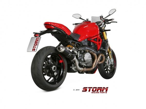 STORM GP Ducati MONSTER 821 Auspuff SPORT ab 2018