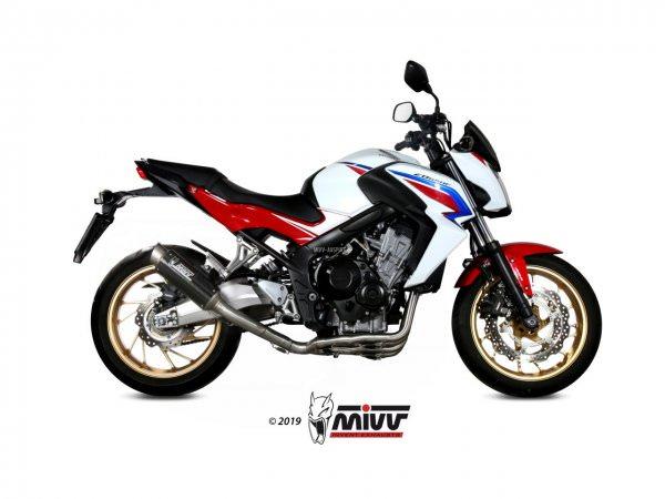 MIVV Honda CB 650 F Auspuff GP Pro Komplettanlage 2014 bis 2018
