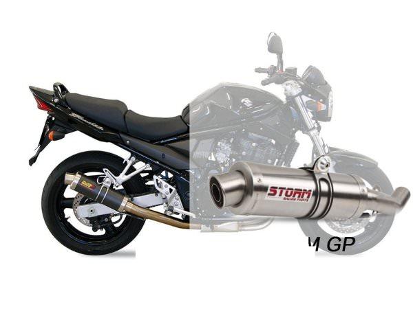 STORM GP Suzuki GSF 650 BANDIT Auspuff 2005 bis 2006