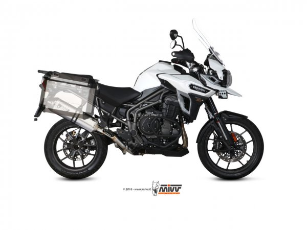 MIVV Triumph TIGER EXPLORER 1200 Auspuff Speed Edge ab 2016