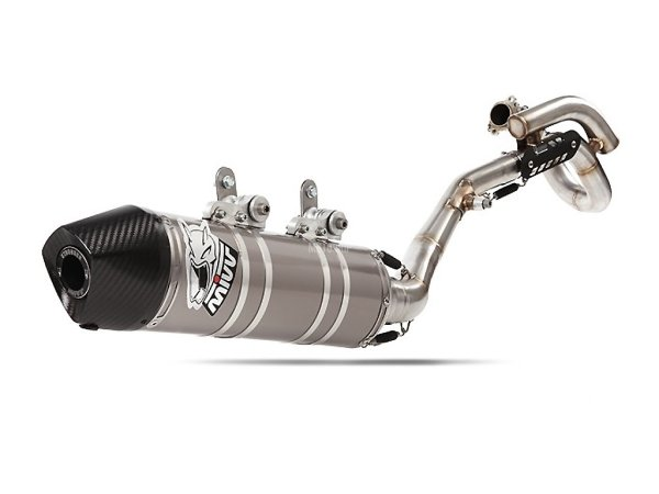 MIVV Honda Auspuff Oval CRE F 450 R ab 2009 bis 2010
