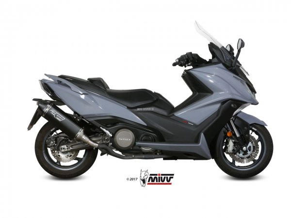 MIVV Kymco AK550 Auspuff Speed Edge ab 2017