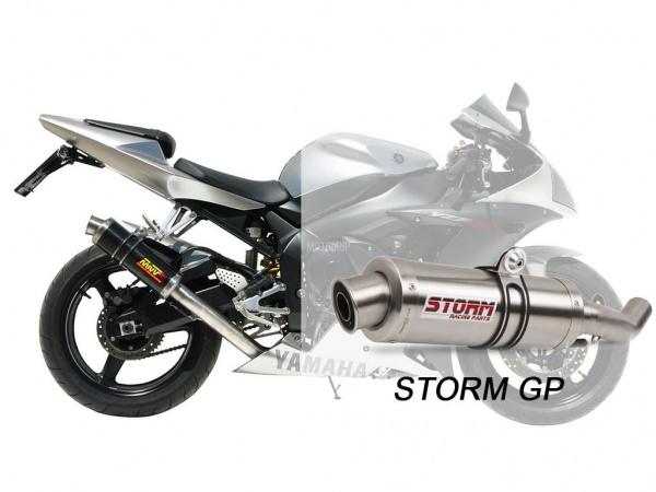 STORM GP Yamaha YZF 1000 R1 Auspuff 2002 bis 2003