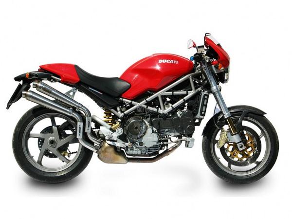 MIVV Ducati Auspuff X-Cone MONSTER S4R ab 2003 bis 2005