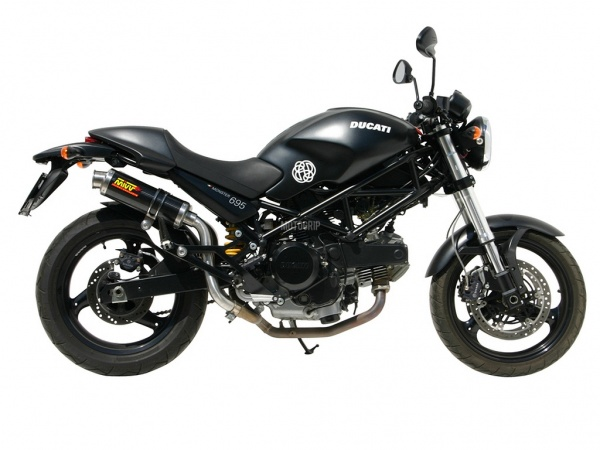 MIVV Ducati Auspuff GP Highup MONSTER 695 ab 2006