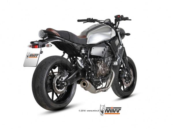 Yamaha XSR 700 Auspuff Racing