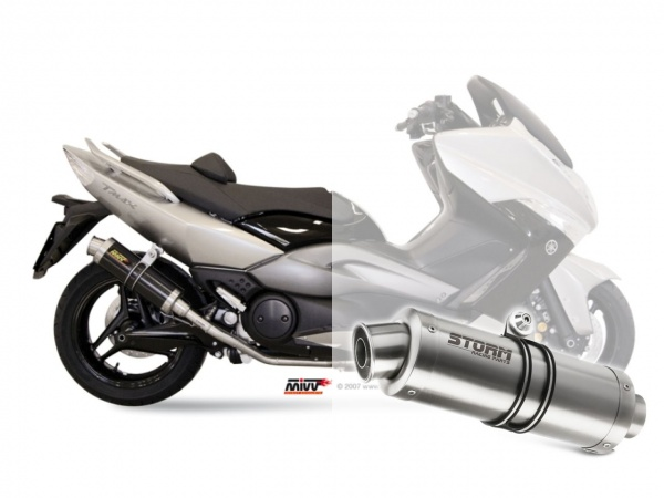 STORM GP Yamaha T-MAX 500 Auspuff 2008 bis 2011