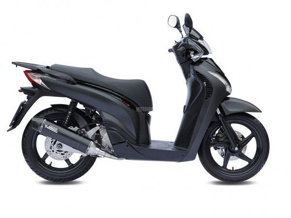 MIVV Honda Stronger SH 150 ab 2002 bis 2012