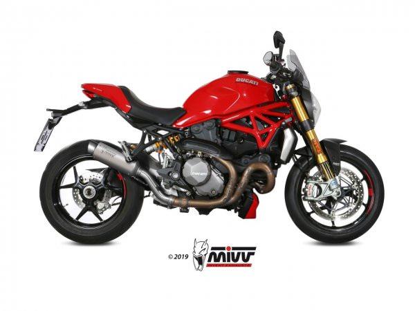 MIVV Ducati MONSTER 821 Auspuff GP Pro ab 2018