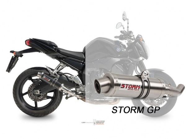 STORM GP Yamaha FZ1 / FZ1 FAZER Auspuff 2006 bis 2016