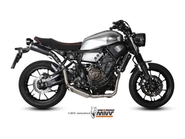 Auspuff Yamaha XSR 700 2016 mit ABE
