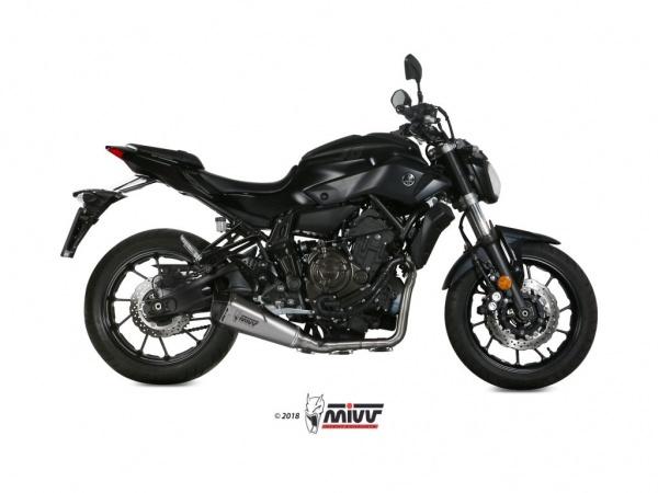 MIVV Delta Race Yamaha MT-07 Auspuff ab 2014