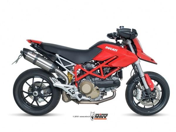 MIVV Ducati Auspuff Suono HYPERMOTARD 1100 EVO ab 2010