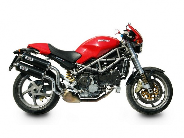 MIVV Ducati Auspuff Oval MONSTER S4R ab 2003 bis 2005