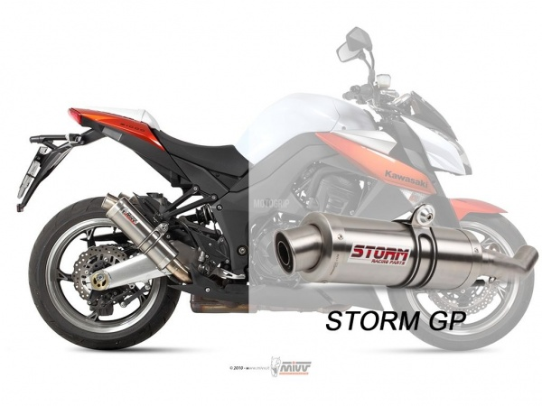 STORM GP Kawasaki Z 1000 Auspuff 2010 bis 2013