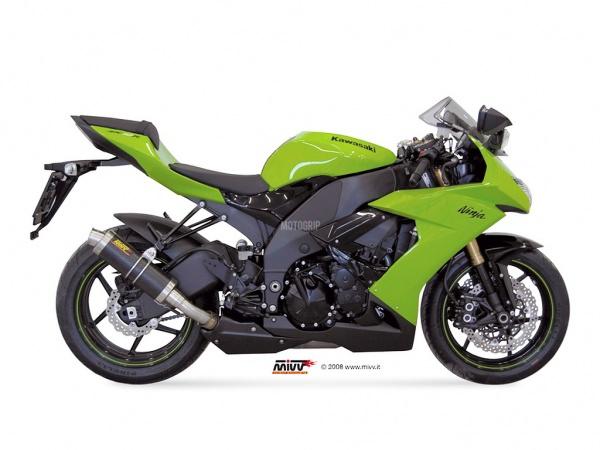 MIVV Kawasaki Auspuff GP ZX-10 R ab 2008 bis 2010