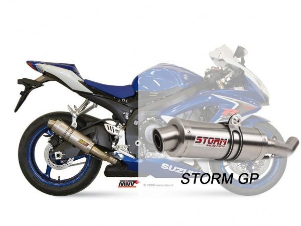STORM GP Suzuki GSX-R 750 Auspuff 2008 bis 2010