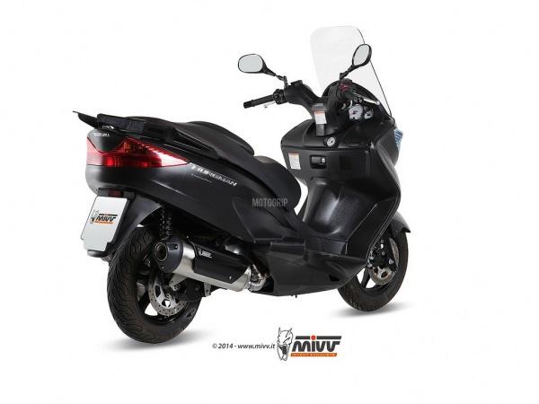 MIVV Suzuki Auspuff Urban BURGMAN 125 ab 2007 bis 2013