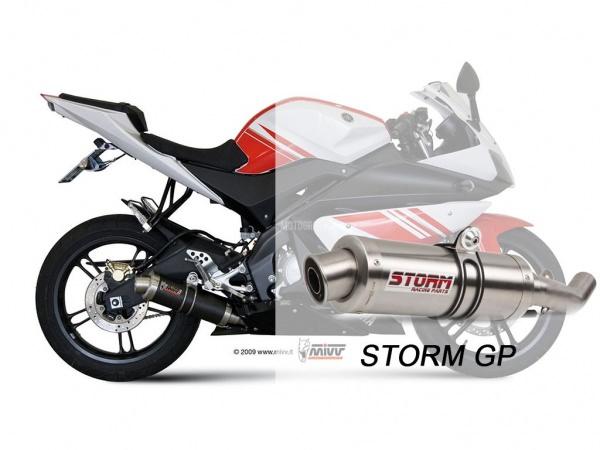 STORM GP Yamaha YZF R125 Auspuff 2008 bis 2013