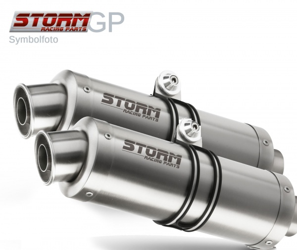 STORM GP Ducati MONSTER 1000 Auspuff 2003 bis 2005