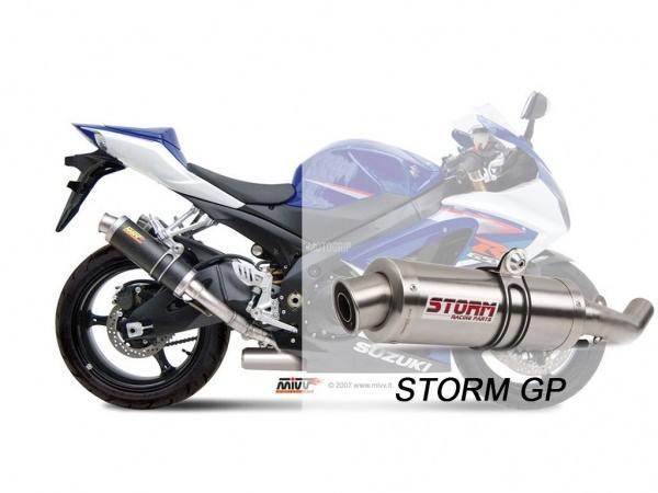 STORM GP Suzuki GSX-R 1000 Auspuff 2007 bis 2008